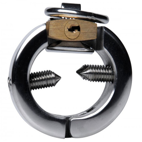 Master Series Fiend Stainless Steel 1.5 inch CBT Piercing Chamber