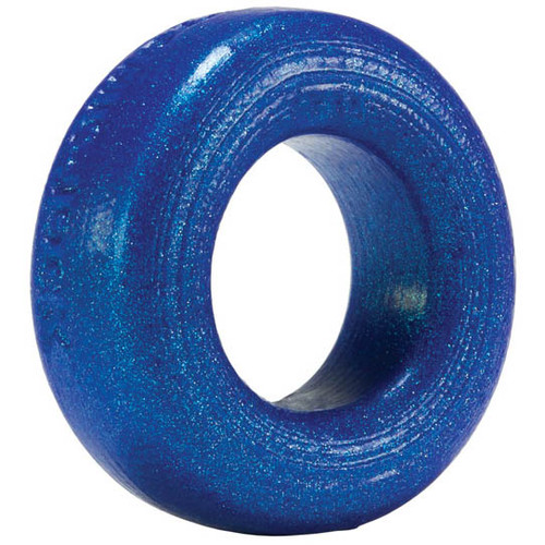 Buy the Atomic Jock Cock-T Silicone Cock Ring Blueballs Metallic Blue - OXBALLS