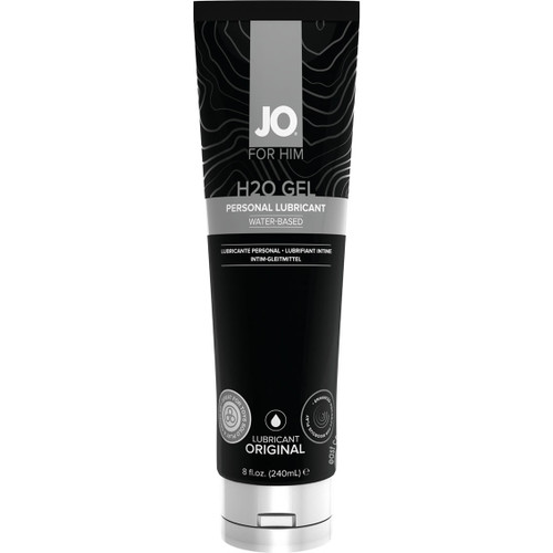 JO for Him H2O Gel Original Water-based Personal Lubricant 8 oz