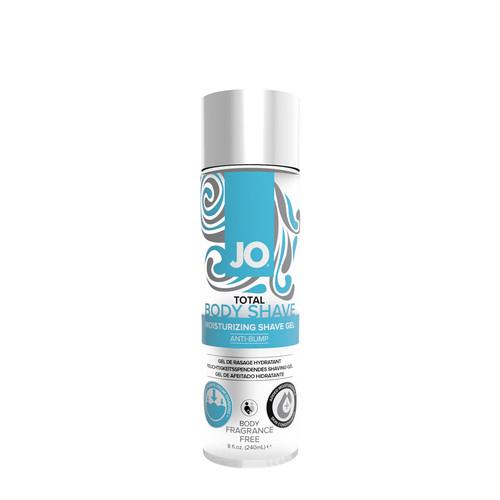 Buy the Total Body Anti-Bump Fragrance-free Moisturizing Shaving Gel 8 oz - System JO