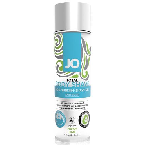 JO Total Body Anti-Bump Shaving Gel Fresh Lime 8 oz