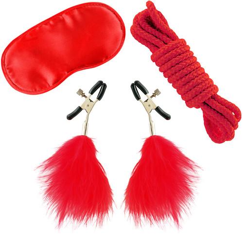 Fetish Fantasy Series Limited Edition Red Lovers Bondage Kit