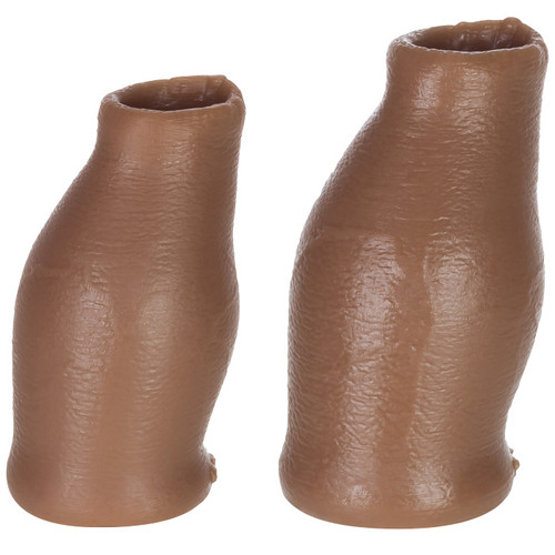 OXBALLS Hood MoreSkin Medium Tone Silicone Faux Foreskin Set Medium/Large