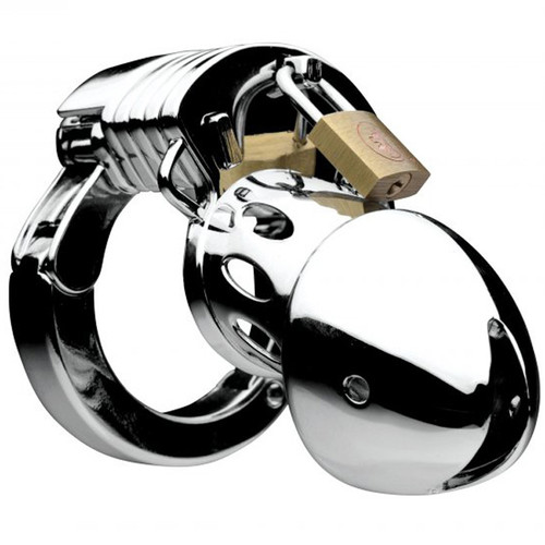 Master Series Incarcerator Adjustable Locking Chastity Cage