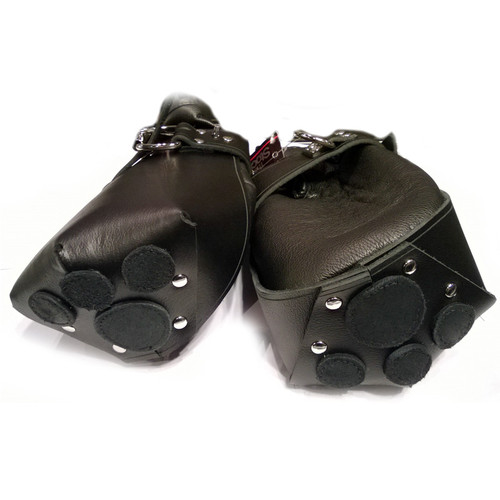 StockRoom Leather Puppy Paw Fist Mitts