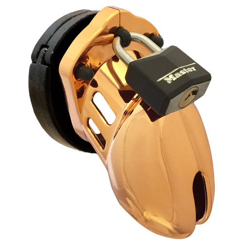 CB-X CB-6000S Male Chastity Device Designer Series Gold
