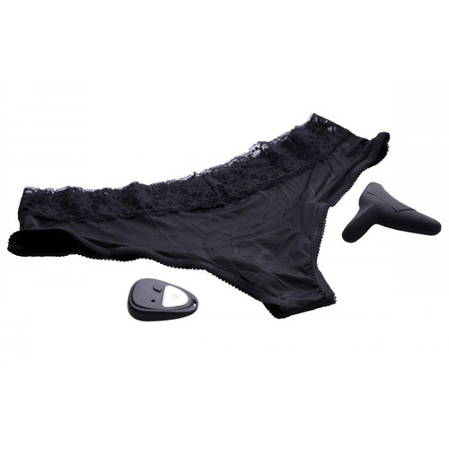 Frisky Pulsating Panty 10X Remote Control Cheeky Style Vibrating Panty