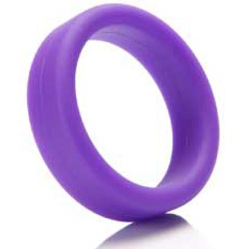 Tantus Super Soft Silicone C-Ring Purple