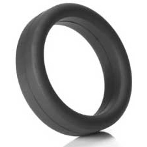 Tantus Super Soft Silicone C-Ring Black