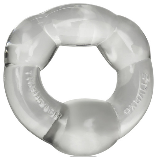 OXBALLS Thruster Plumping Cock Ring Clear
