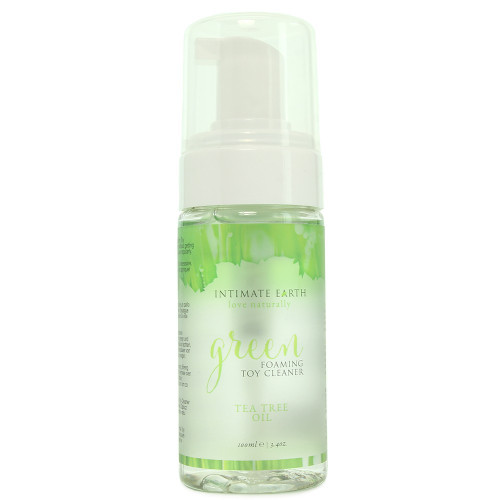 Intimate Earth Green Tea Tree Oil Foaming Toy Cleaner 3.4 oz