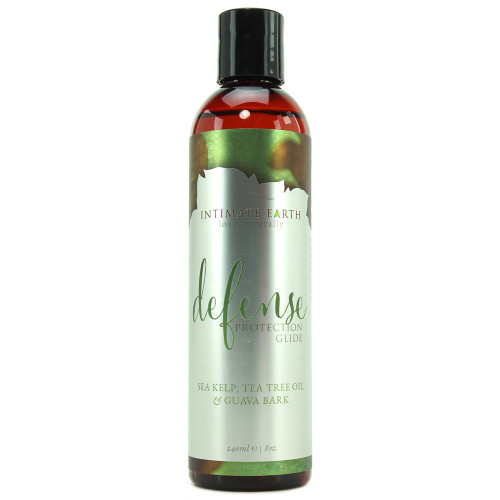 Intimate Earth Defense Water-Based Lubricant 8 oz