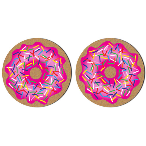 Pastease Donut with Pink Icing and Rainbow Sprinkles Nipple Pasties