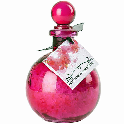 Olivia's Boudoir Pink Cashmere Bath Salt 10 oz