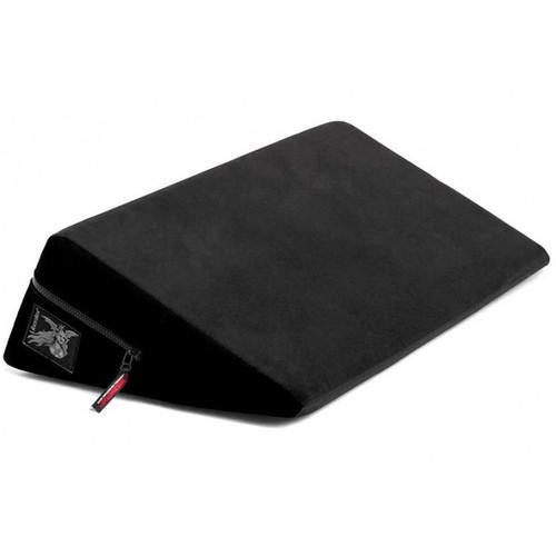 Liberator Plus Size Wedge Position Pillow Black Microfiber