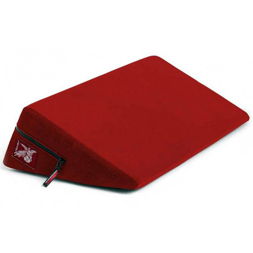 Liberator Plus Size Wedge Position Pillow Flame Red Microfiber