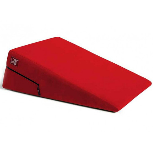 Liberator Plus Size Ramp Position Pillow Flame Red Microfiber