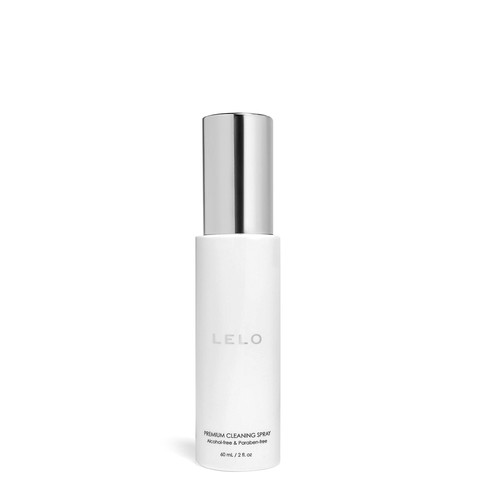 Buy the LELO Premium Sex Toy Cleaning Spray in 2 oz bottle Antibacterial Intimate Cleaner discreet body-safe