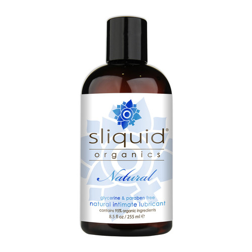 Buy the Organics Natural Water-based Lubricant 8.5 oz - Sliquid Made in the USA