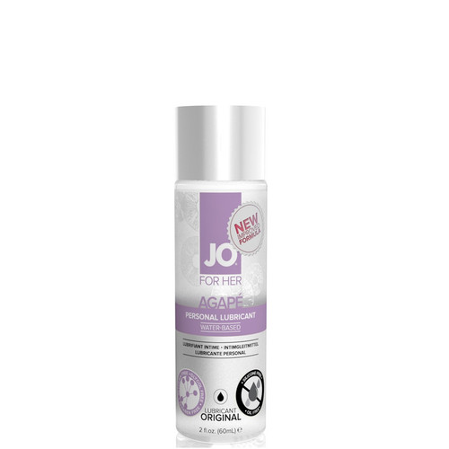 System JO for Her Agape Water-based Lubricant 2 oz