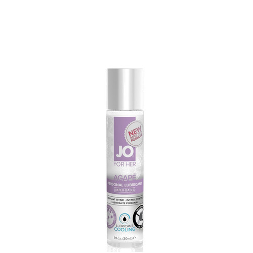 System JO for Her Agape Cooling Water-based Lubricant 1 oz