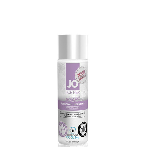 System JO for Her Agape Cooling Water-based Lubricant 2 oz