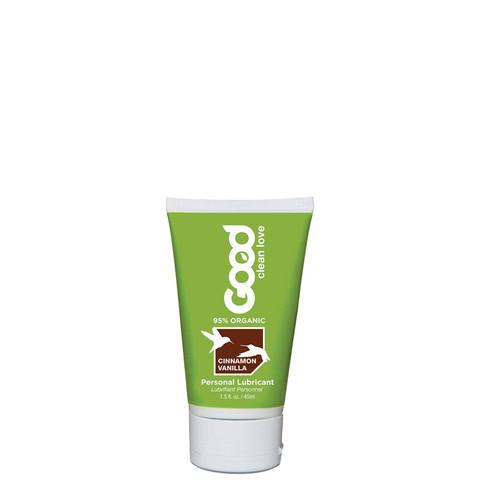 Good Clean Love Cinnamon Vanilla Organic Personal Lubricant 1.5 oz
