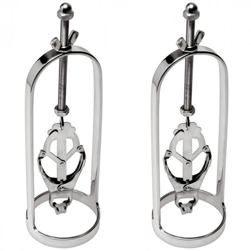 Master Series Stainless Steel Clover Clamp Nipple Stretcher 1-Pair