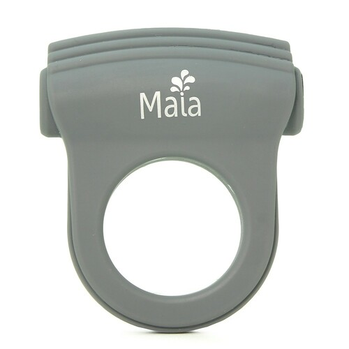 Buy the Man Collection Liam 8-function Rechargeable Vibrating Silicone Cock Ring - Maia Toys