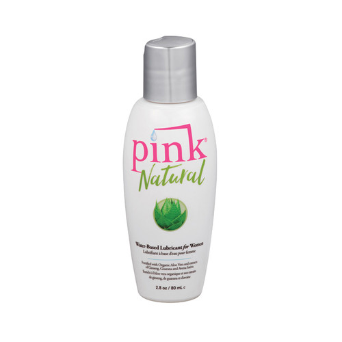 Buy the Pink Natural Water-based Lubricant for Women in 2.8 oz - Empowered Products