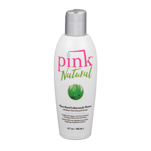 Buy the Pink Natural Water-based Lubricant for Women 4.7 oz - Empowered Products