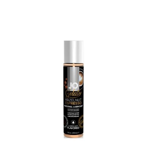 System JO Gelato Hazelnut Espresso Water-Based Flavored Lubricant 1 oz