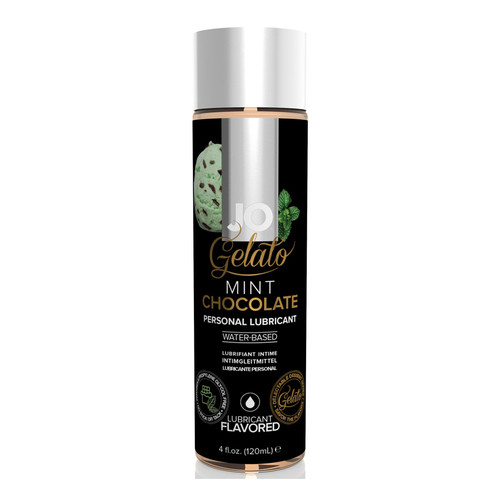 System JO Gelato Mint Chocolate Water-Based Flavored Lubricant 4 oz