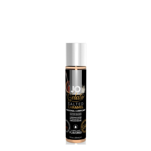 System JO Gelato Salted Caramel Water-Based Flavored Lubricant 1 oz