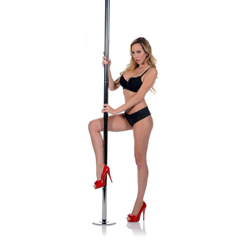 Frisky Professional-Grade Chrome Dance Stripper Pole