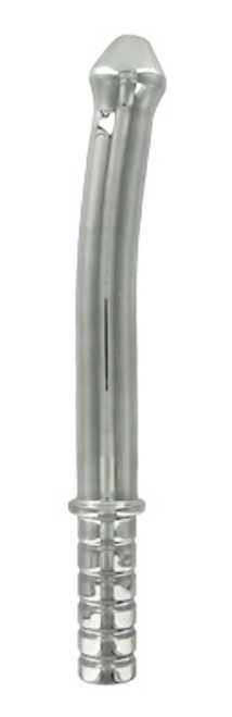 Master Series Stainless Steel Phallic Baton