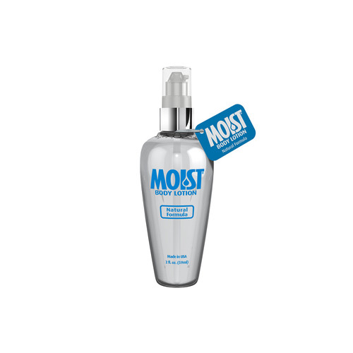 Buy the Moist Lube Body Lotion Natural Formula Water-based Personal Lubricant in 2 oz pump bottle - Pipedream Toys Products