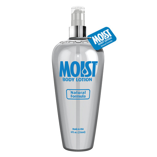 Buy the Moist Lube Body Lotion Natural Formula Water-based Personal Lubricant in 8 oz pump bottle - Pipedream Toys Products
