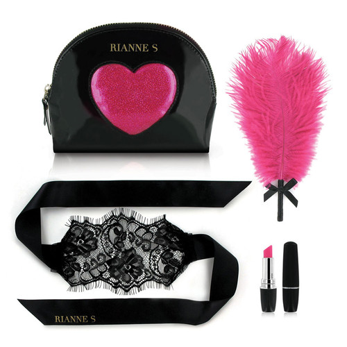 Buy Essentials D'Amour Kit Black & Pink - Rianne S