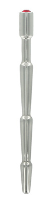 Master Series Ruby Wave Stainless Steel Urethral Sound