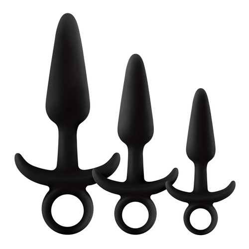 Buy Renegade Men's Tool Kit Silicone Butt Plug Set - NS Novelties