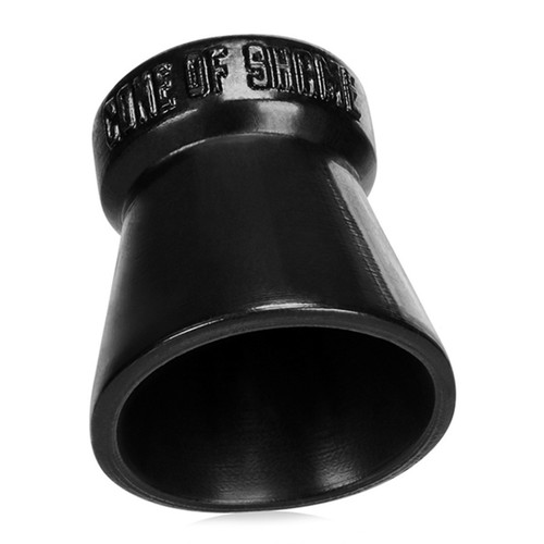 Buy the Cone of Shame Silicone Cock & Ball Ring Chastity Device in Black - OxBalls Blue Ox Designs