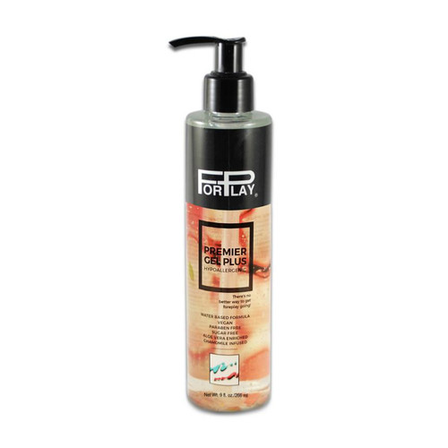 Buy the Premier Gel Plus Hypoallergenic Water-based Lubricant 9 oz - ForPlay