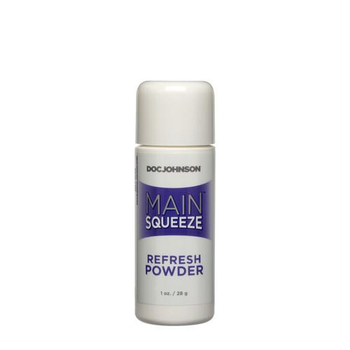 Buy Main Squeeze Refresh Powder for UltraSkyn TPR TPE Cyberskin 1 oz - Doc Johnson