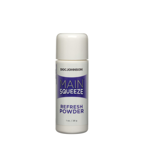 Buy Main Squeeze Refresh Powder for UltraSkyn TPR TPE Cyberskin 1 oz - Doc Johnson