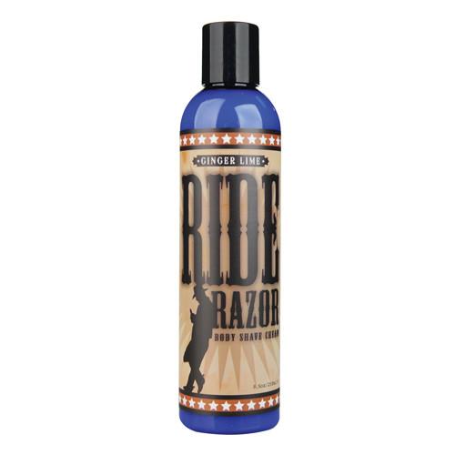 Sliquid Ride Razor Shave Cream Ginger Lime 8.5 oz