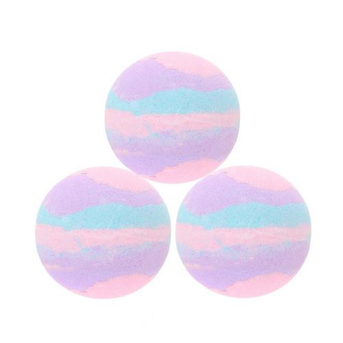 Buy the Multi-Color Lavender Bath Bombs 3-pack - Kheper Games
