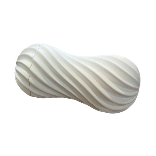 Buy the Flex Silky Reusable Male Masturbator White - Tenga
