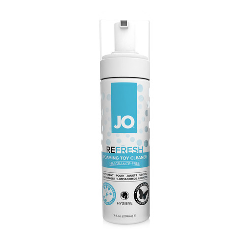 Buy the Refresh Fragrance-free Foaming Intimate Toy Cleaner 7 oz - System JO