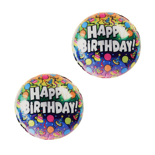 Buy the Nipztix Freaking Awesome Happy Birthday Mylar Balloons Pasties Nipple Covers - Neva Nude